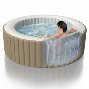 spa inflable intex purespa burbujas